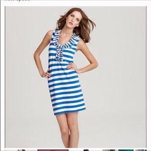 Kate Spade Blue & White Stripe Lucille Dress